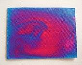 Pink Cloud Nebula ACEO