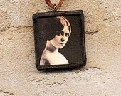 Young Clara Bow Necklace
