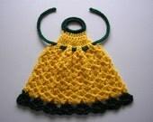 Dish Liquid Apron ... PDF Crochet Pattern