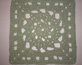 AUTUMN COLLECTION.............SAGE 12 Inch Square (Crochet Pattern)