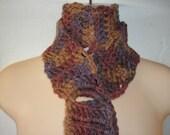 PDF...Stair Steps To My Heart... Skinny Scarf Crochet Pattern