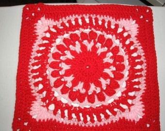 PDF... Grandmothers China (12 inch crochet square pattern)
