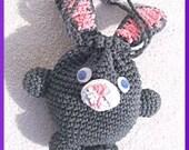 Easter Bunny Bag, Crochet Pattern Instant Download