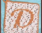 Crochet pattern, PDF, Personalized Hotpad Instant Download