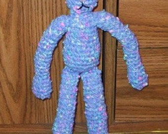 Crochet Pattern  Bunny doll plus 2 outfits
