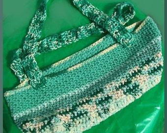 Shopping Cart Bag, crochet pattern PDF Instant Download