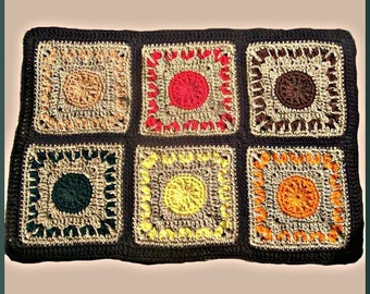 Crochet Pattern, Dancing Leaves Table Runner
