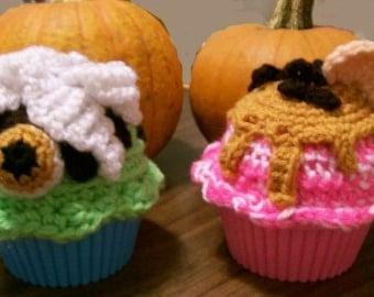 Crochet Pattern, Hallowe'en Ice Cream