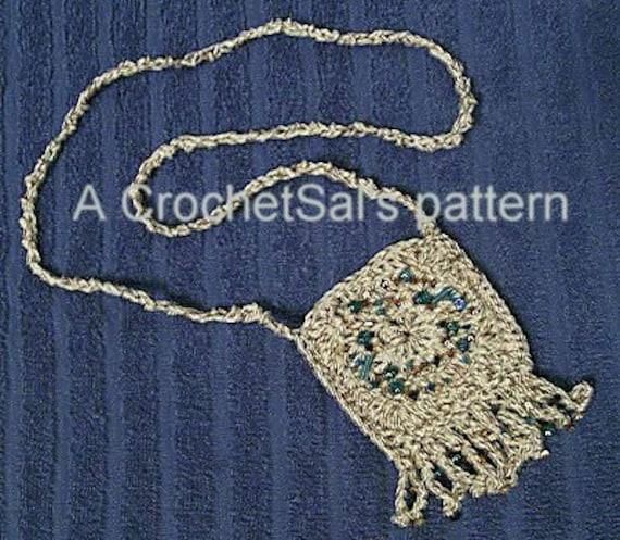 x-ed out wrist bag - Crochet Spot - Crochet Patterns