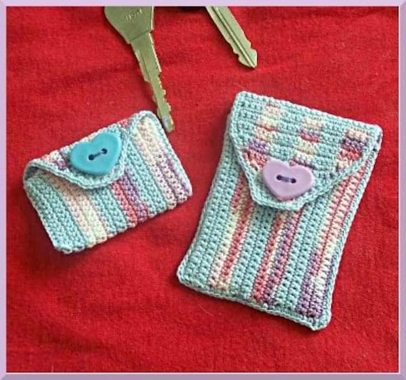 Crochet Pattern Gift Card Holder Set
