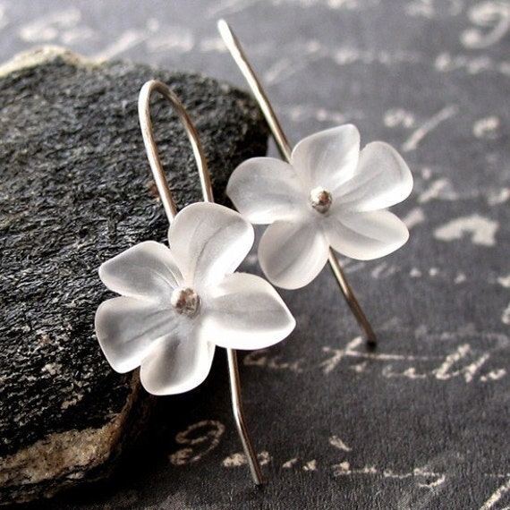 Snow Blossom Earrings SPECIAL