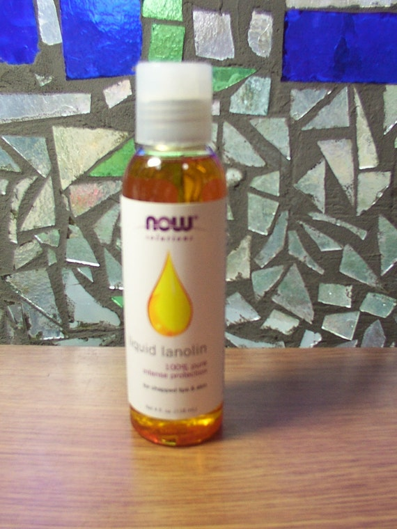 Liquid Lanolin WITH or WITHOUT Essential Oil  for Wool Diaper Covers Soakers  4 oz