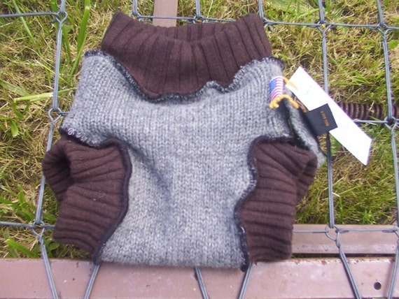 GRATEFUL BUNS Wool Soaker UNDERWATER Diaper Cover  MEDIUM   10 to 20 lbs  MS100,42