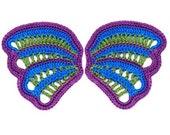 Miniature Thread Crochet Wing - Fairy Wing Pattern PDF Download