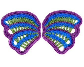 Miniature Thread Crochet Wing - Fairy Wing Pattern PDF Download