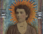 Vintage Rays - ACEO