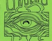 CTHULHU COLORING BOOK, Lovecraft monster art zine, weird