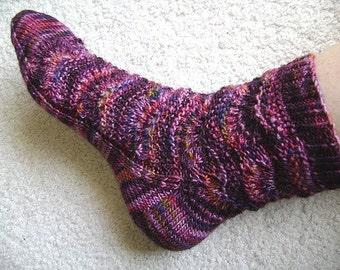 Yukari sock pattern