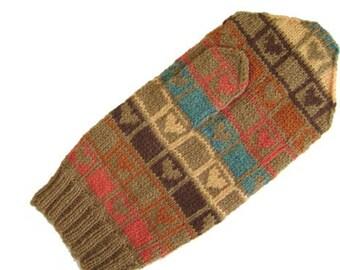 Psychic Hearts mitten pattern
