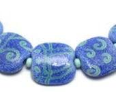 Lori Greenberg Lampwork - Southwest Crunch Glass Bead Set