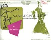 Stretch & Sew vintage Ladies' Caftan pattern