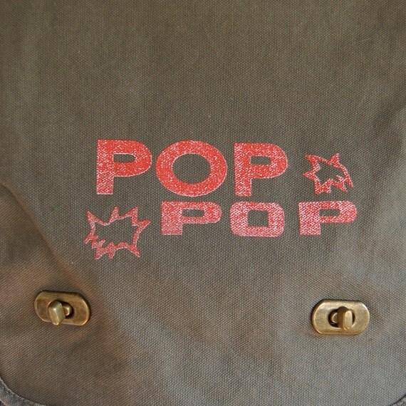Pop Pop Messenger Bag