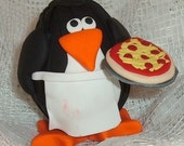 Pizza Guy Penguin