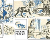 Vintage Sticker Pack 2
