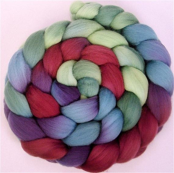 BAYOU Handpainted Merino Wool Roving 4 ounces