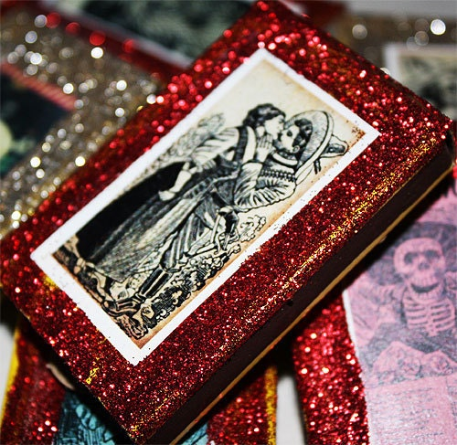 Mexican Wedding Favors Ideas: Mexican Wedding Favors Day Of The Dead Matchboxes Quinceanera