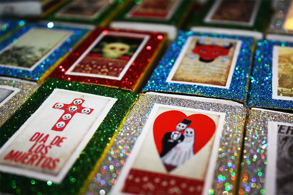 Day Of The Dead Wedding Favors Set Of 25 Matchbox Candy