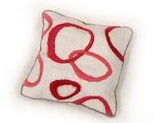 Crewel Embroidery Lavender Sachet Kit - Love Loops