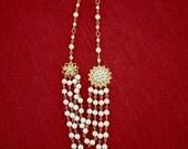 Duchess bridal necklace