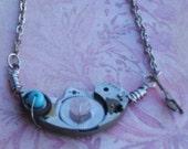 Watch Bits ChronoEntropy Necklace, Pendant, Steampunk SAVED for strawberryanarchy
