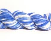 SHOP WIDE SALE-ALL YARNS JUST 9.99 EACH----Handspun Hand Dyed Falkland Yarn- 78yds (hs1460)