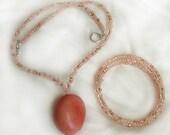 Nursing Necklace and Reminder Bracelet Set