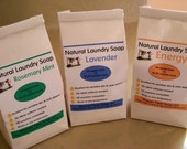 Natural Vegan Laundry Detergent- 48 to 96 Loads- NO FELS NAPTHA- Fabulous on Cloth Diapers