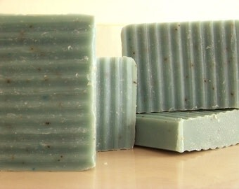 Spearmint Eucalyptus Soap- Olive Oil Cold Process- Vegan