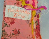 Handmade Zine by Alma Stoller Reserved for Beccy