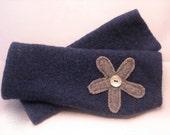Wool Fingerless Gloves for Women
