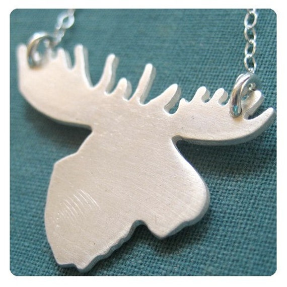 HOLIDAY LIMITED EDITION moose necklace