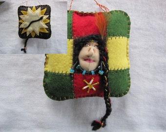 Return of the Sun Ornament, Soyala -Soyaluna (Hopi Soyal Ceremony)