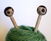 Flapper Knitting Needles