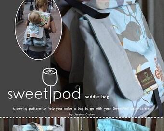 SweetPod saddle bag PDF pattern