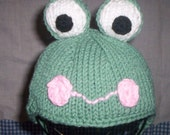 Frog Hat for Babies