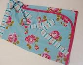 Classic Wrap Skirt Ladies JP Poodle Roses