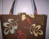 Retro Tote Bag or Overnight Bag