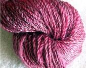 Handspun SW Merino Wool and Tencel 140 yards knitting crochet