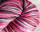 Streak Handpainted Merino Superwash Sock yarn