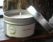 Vanilla Soy Candle, Travel Tin 6 oz